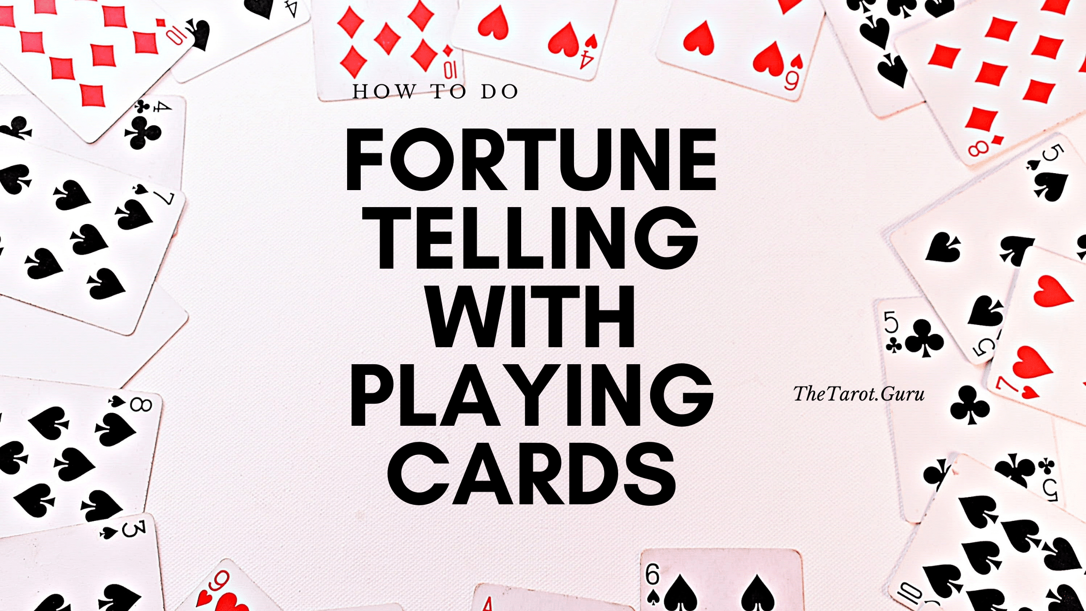 how to do fortune telling with playing cards