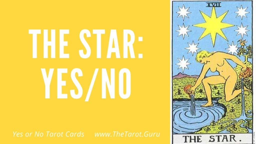 The Star Yes or No Tarot