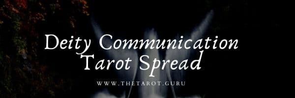 Deity Communication Tarot Spread