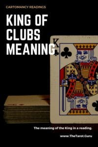 King of Clubs in a Cartomancy Reading