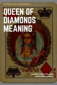 Queen of Diamonds Tarot Meaning
