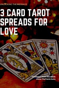 3 Card Tarot Spread for Relationships