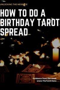 How to Perform a Birthday Tarot Spread