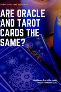 Oracle and Tarot the Same