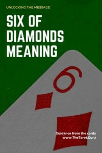 Six of Diamonds Meaning