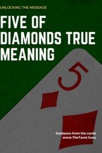 five of diamonds cartomancy meaning